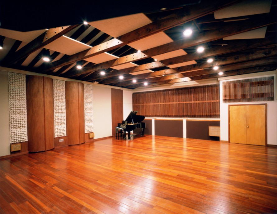 No es b sicas de ac stica para est dios for Recording studio flooring