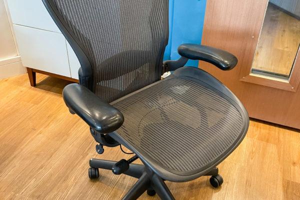 Cadeira Herman Miller Preta (1un) 150,00